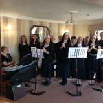 Singing at Hillside Lodge