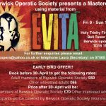 Workshop featuring songs from Evita