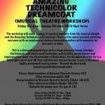JOSEPH AND HIS AMAZING TECHNICOLOUR DREAMCOAT WORKSHOP