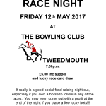 After show get together & Race Night