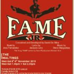 Buy Tickets now for Fame Jnr 6-9th November 2019